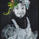 mixed media, 70 x 100 cm in lijst, 2015